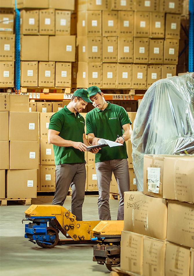 Servizio di Logistica e trasporto merci