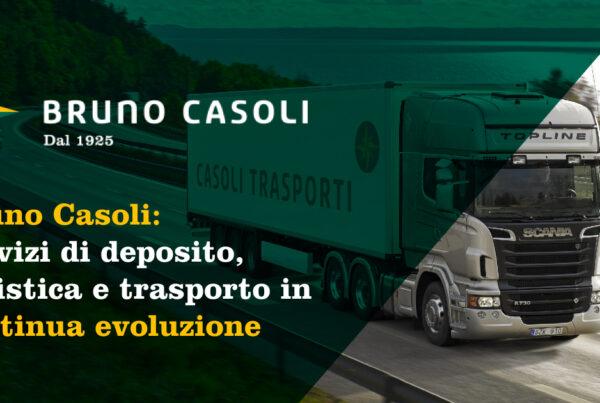 Bruno Casoli Trasporti servizi in continua evoluzione